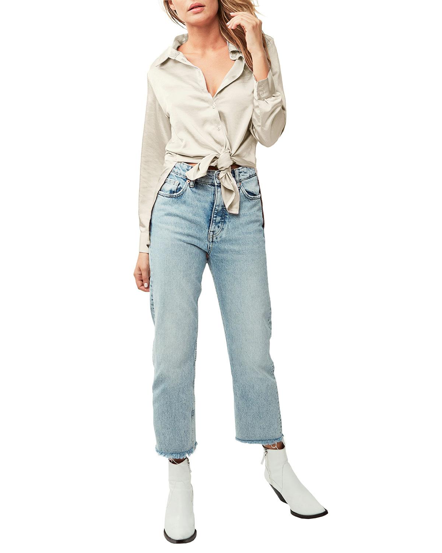 Inez Button-Down Tunic