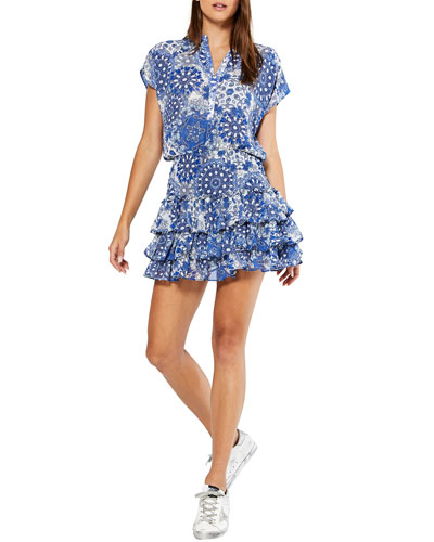 Eloisa Tiered Ruffle Dress