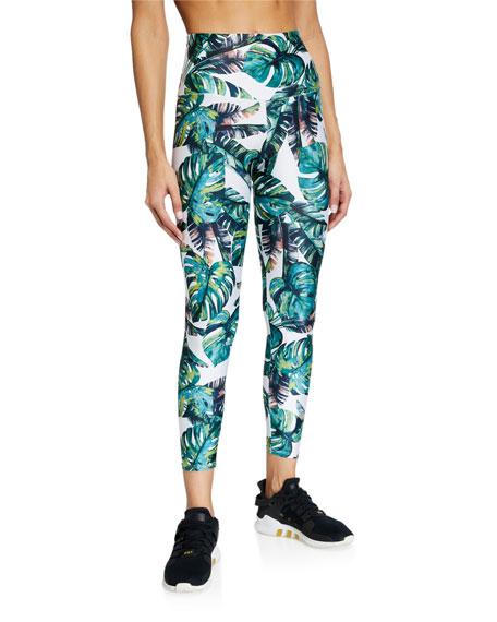 Onzie High Basic Midi Leggings - Tropics