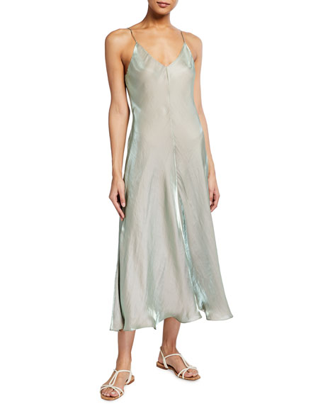 Vince Iridescent Cami Slip Dress