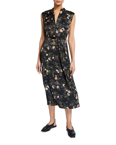 Rose Field Popover Dress