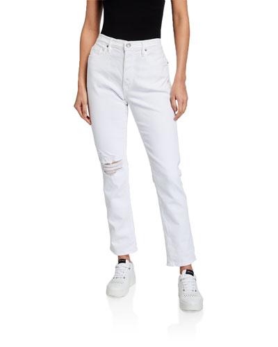 Le Beau Straight-Leg Jeans