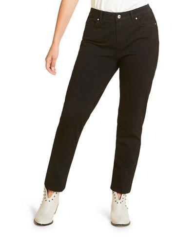 Plus Size Incontro Skinny Jersey Denim Jeans