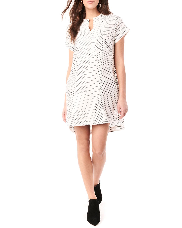 Maternity Cybelle Short-Sleeve Printed Dress