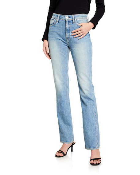 Hudson Abbey High-Rise Boot-Cut Jeans
