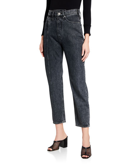 Hudson Elly Folded High-Rise Crop Jeans