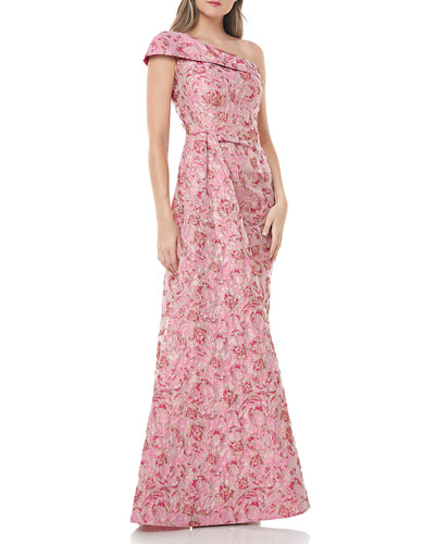 Pink Floral Evening Gown | Neiman Marcus
