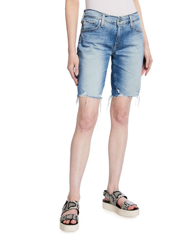Nikki Relaxed Skinny Denim Shorts