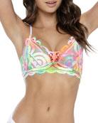 PQ Swim Sweetheart Lace Bralette Bikini Top (Available
