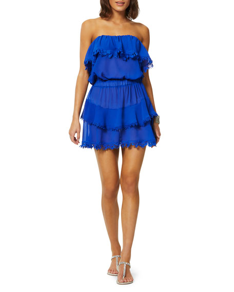 Ramy Brook Garcia Ruffled Coverup Dress