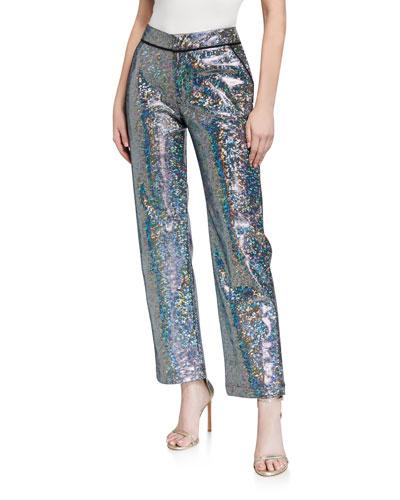 Mosaic Suit Pants