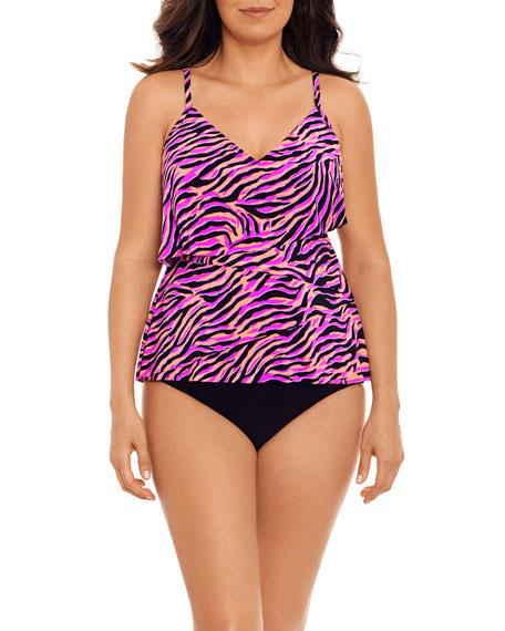 Magicsuit Chloe Wild Life Tankini Swim Top