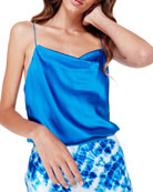 Cami NYC The Axel Cowl-Neck Silk Camisole
