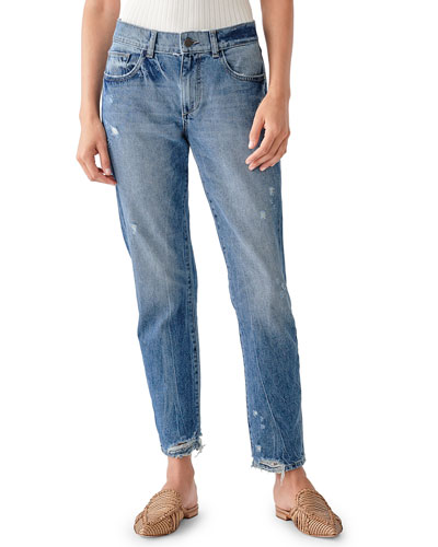 Riley Tapered Mid-Rise Boyfriend Jeans