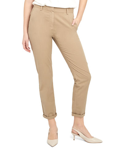 Treeca 2 Cuffed Twill Cropped Pants