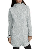 Canada Goose Salida Printed Lightweight Hooded Jacket