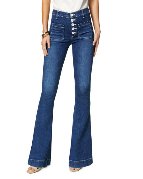 Ramy Brook Cindy High-Rise Flare Pants