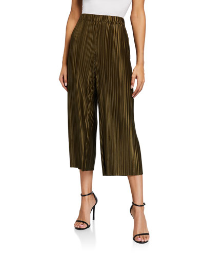 Elba Cropped Wide-Leg Pants
