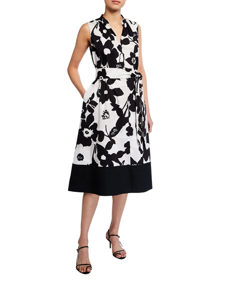 Natori Anemone Garden Sleeveless Dress