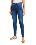 CQY Palme High-Rise Skinny Jeans