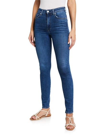 CQY Palme High-Rise Skinny Jeans
