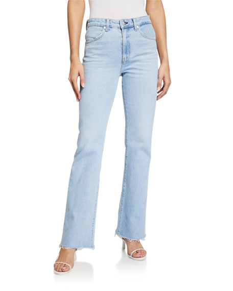 CQY Bliss High-Rise Boot Cut Jeans