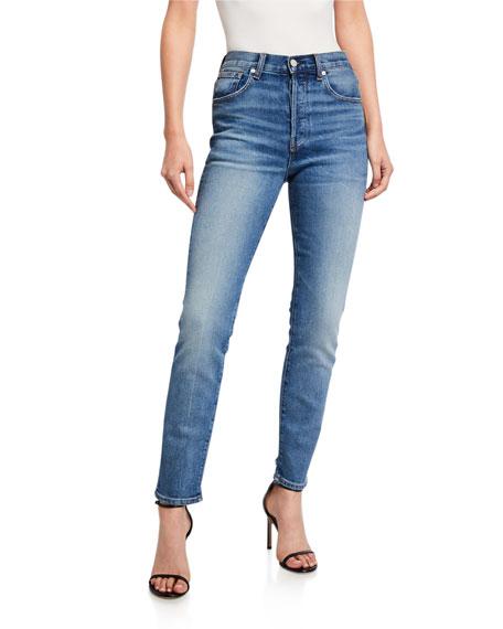 CQY Icon Vintage Slim-Leg Jeans