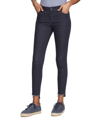 Plus Size Mercer Primo Denim Step-Hem Ankle Jeans