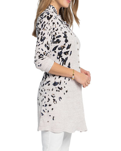 New Ladies Womens Italian Made Waterfall Open Cardigan Viscose Material One Size
