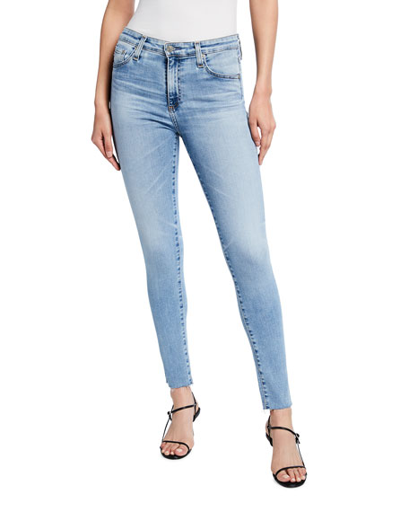 AG Adriano Goldschmied Prima Mid-Rise Cropped Skinny Jeans