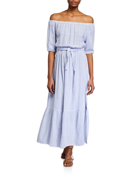 lemlem Semira Off-Shoulder Dress