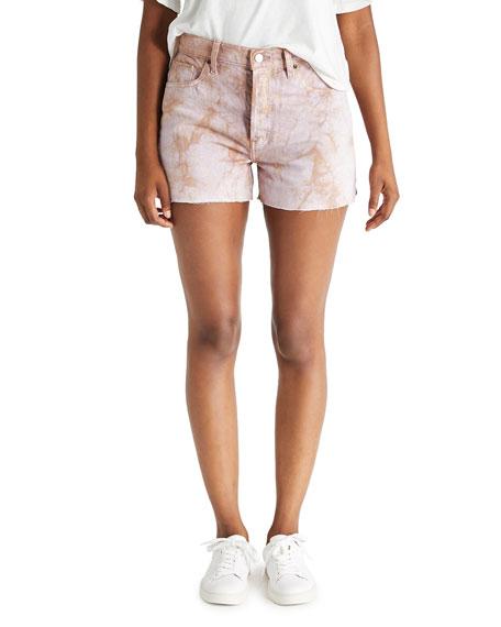 etica Sydney Tie-Dye Jean Shorts