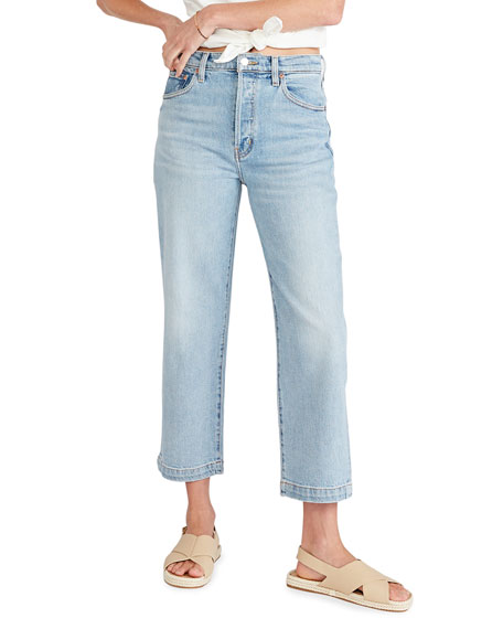 etica Tyler High-Rise Ankle Jeans