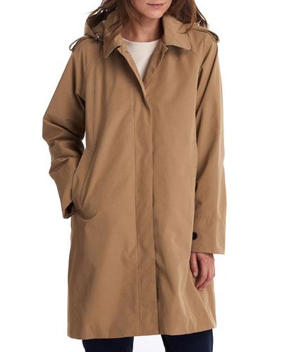 Millie Long Water-Resistant Jacket