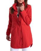 Barbour Katafront Concealed Hood Raincoat
