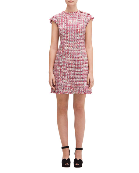 kate spade new york textured tweed dress