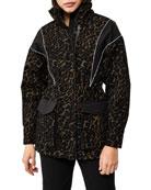 Mackage Simona Hooded Contrast Puffer Coat