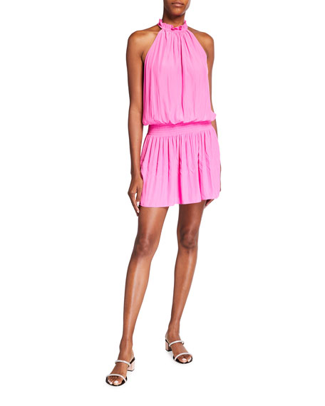 Ramy Brook Karoline Smocked Dress