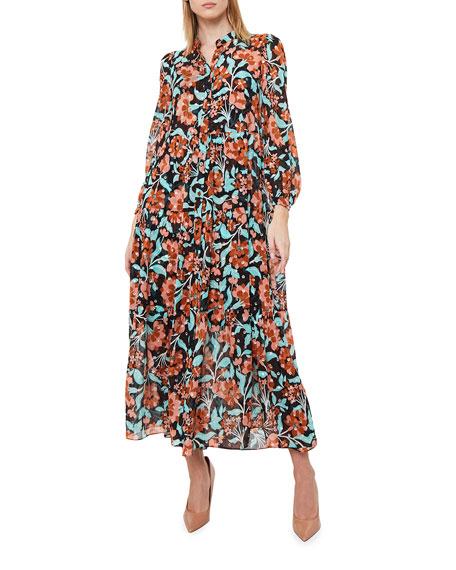Diane von Furstenberg Nea Floral-Print Maxi Dress