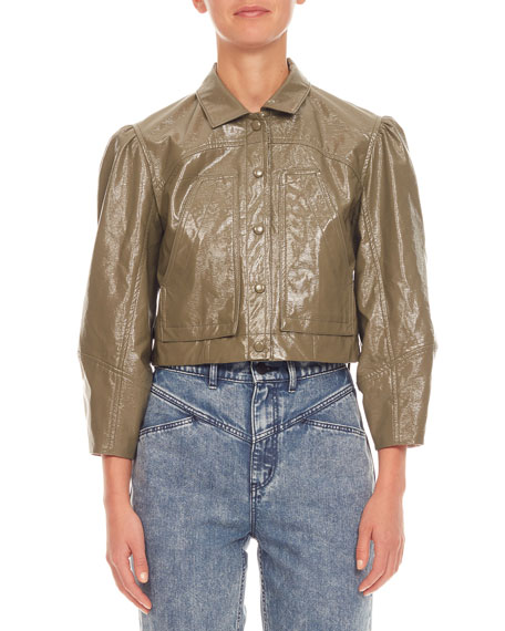 Rebecca Taylor Vegan Leather Jacket