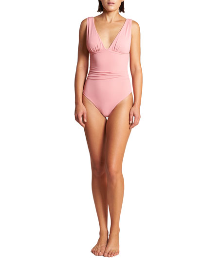 LeSwim Athena Pique One-Piece Swimsuit