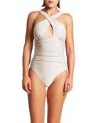 LeSwim Minerva Shimmer One-Piece Swimsuit