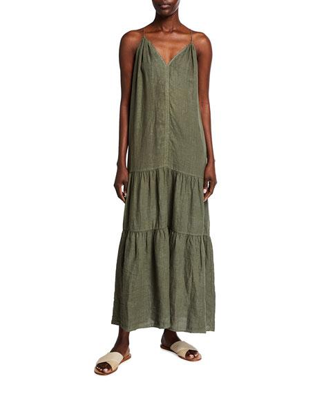 Velvet Cleo Tiered Sleeveless Maxi Dress