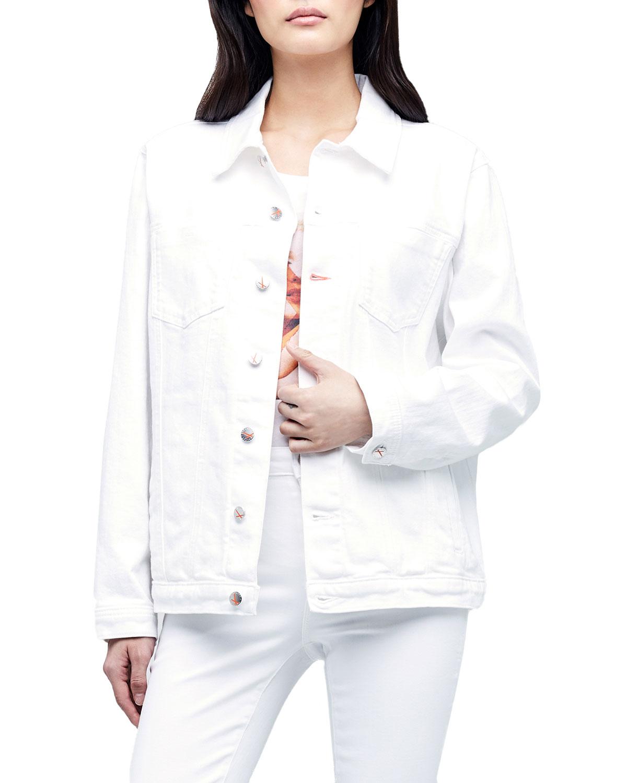 x Bert Stern Karissa Oversized Denim Jacket