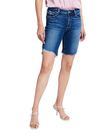 PAIGE Jax Denim Cutoff Shorts