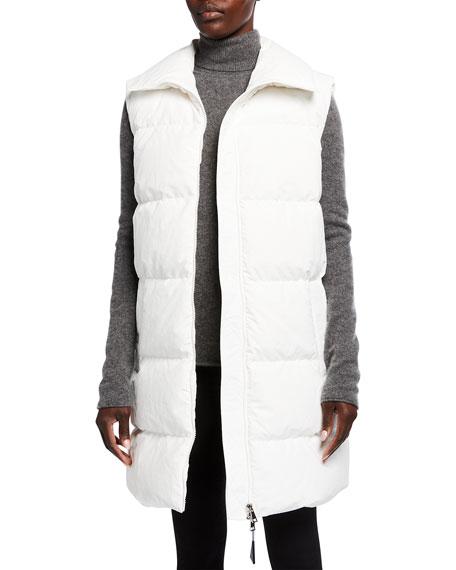 Moncler Godec Long Puffer Vest