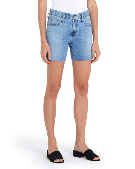 AG Adriano Goldschmied Becke Denim Shorts