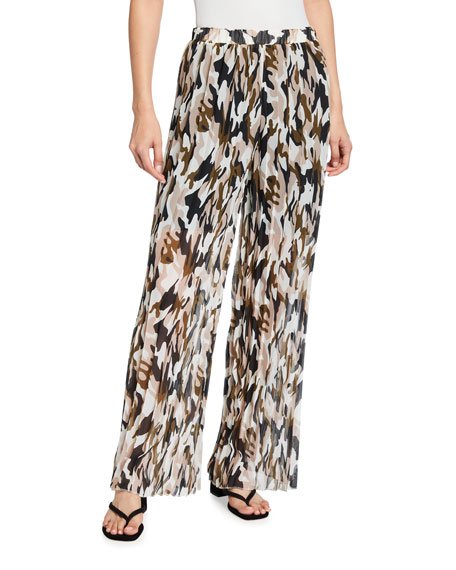 Loyd/Ford Wide-Leg Camo Pants