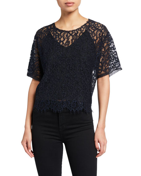 Loyd/Ford Lace Tee with Cami