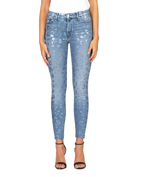 Black Orchid Carmen High-Rise Ankle Skinny Jeans